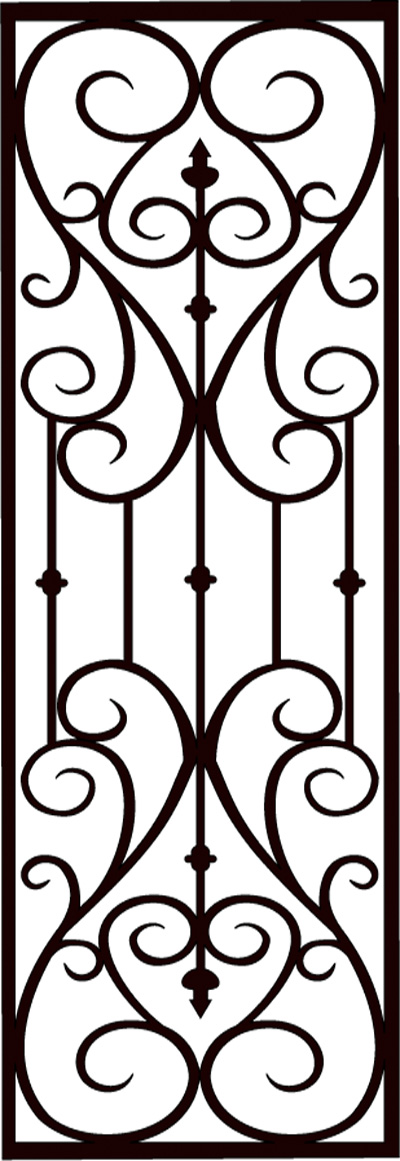 Faux Wrought Iron Pattern D3 Greater Toronto Installation