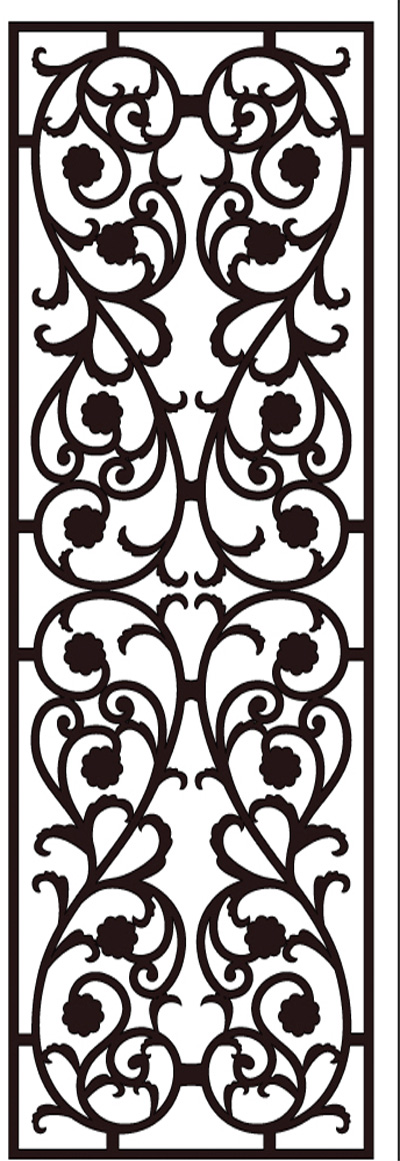 Faux Wrought Iron Pattern D8 Toronto Installation