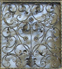 Decorative Iron Security Bars For Residential Windows Or Business Entries