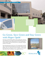 green design brochure image
