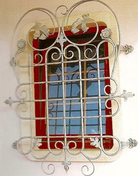 Convex Window Bars Decorativecopy Scrolled Security Bars