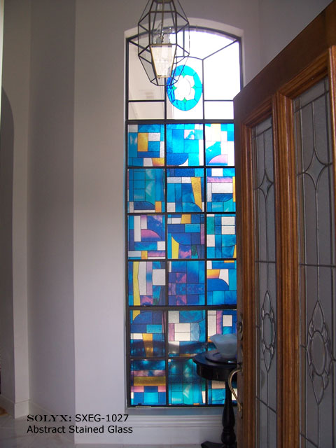 Toronto stain glass window films for Make your own stained glass window film