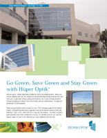 green design brochure image