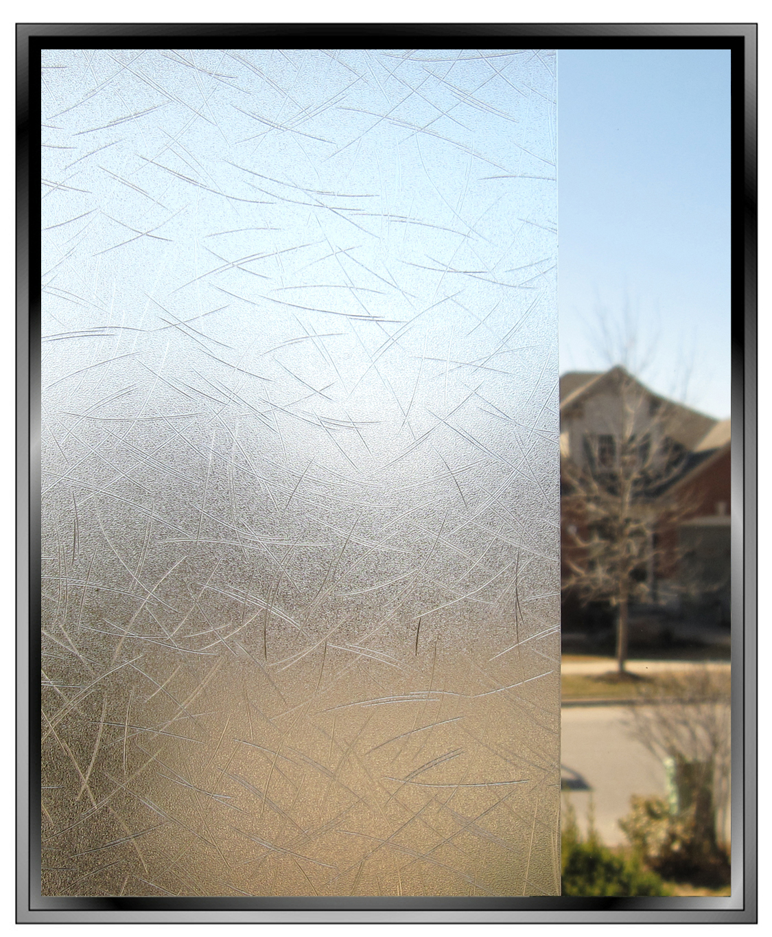 Grass Decorative Privacy Window Film