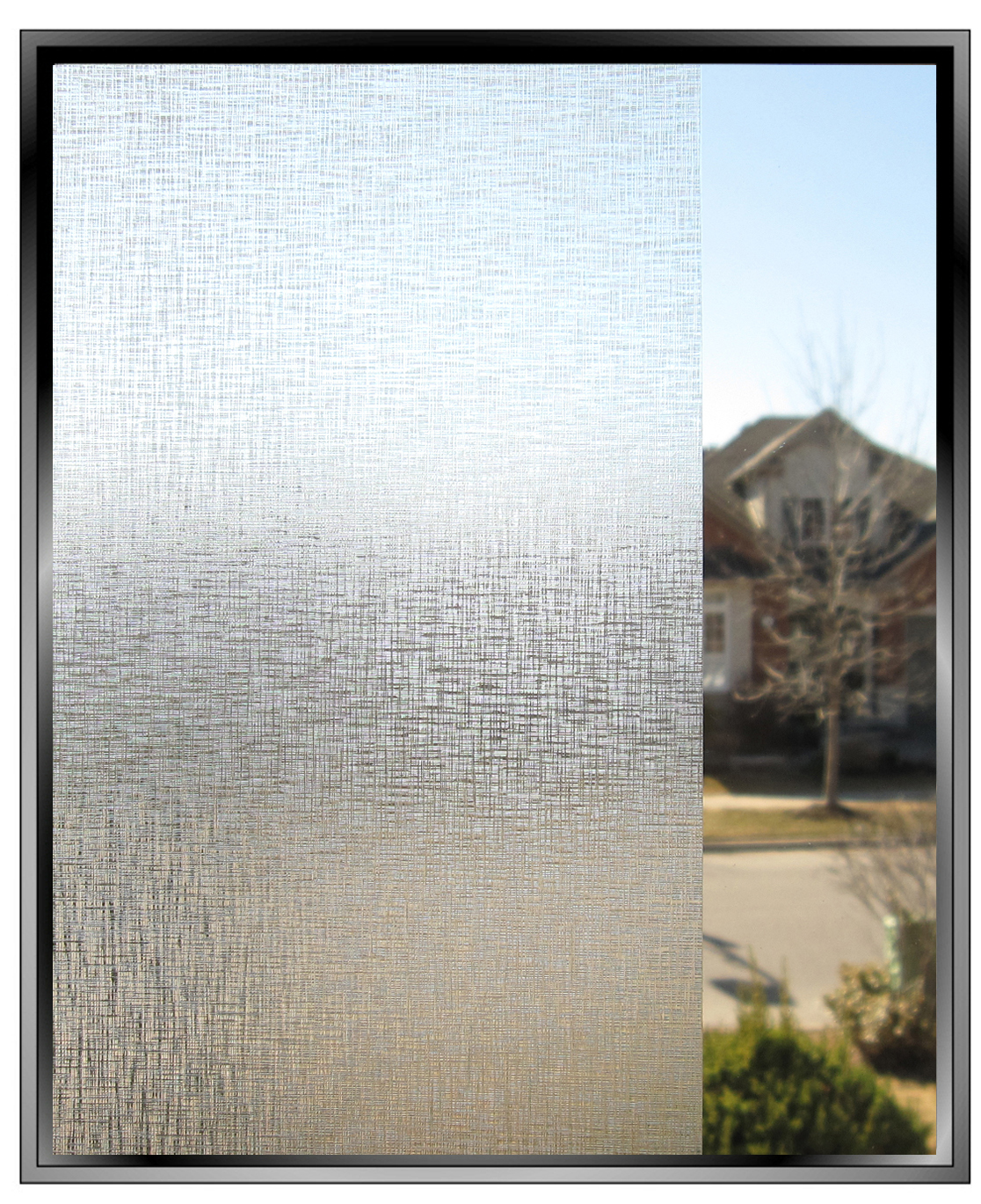 Raw Silk Decorative Privacy Window Film
